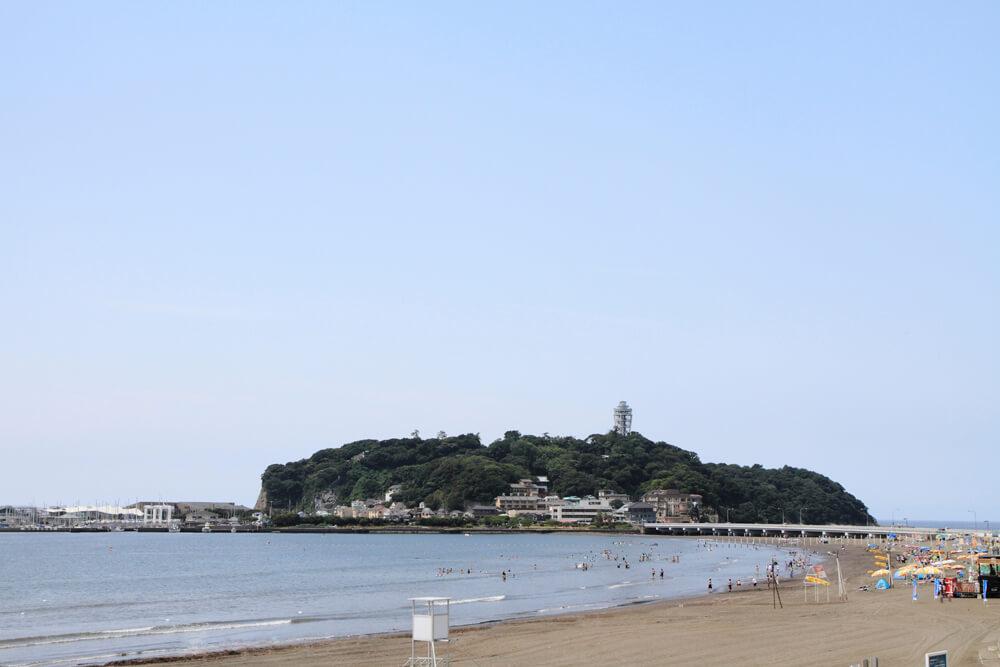 江の島海岸東浜海水浴場