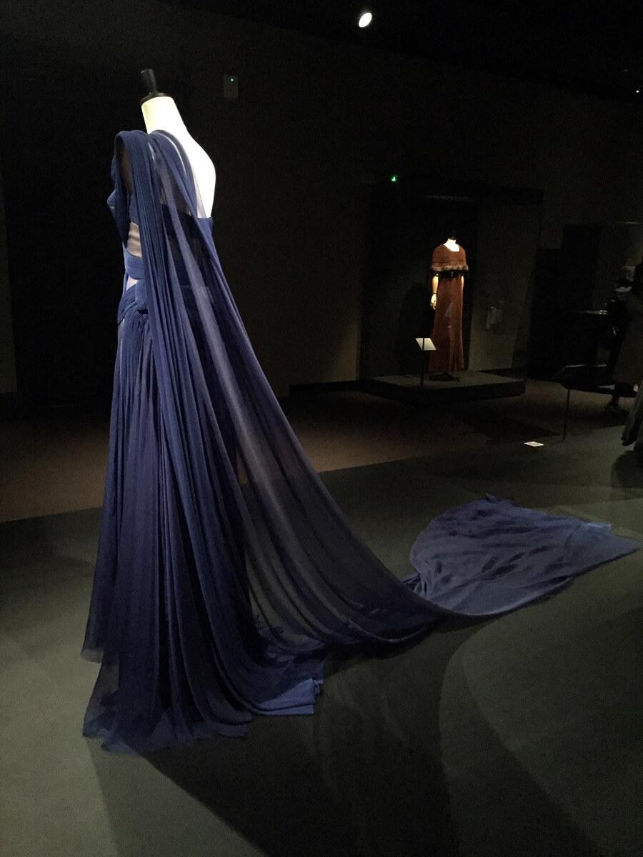 ジャン=ポール・ゴルチエ イヴニング・ドレス<青い鳥>2006年