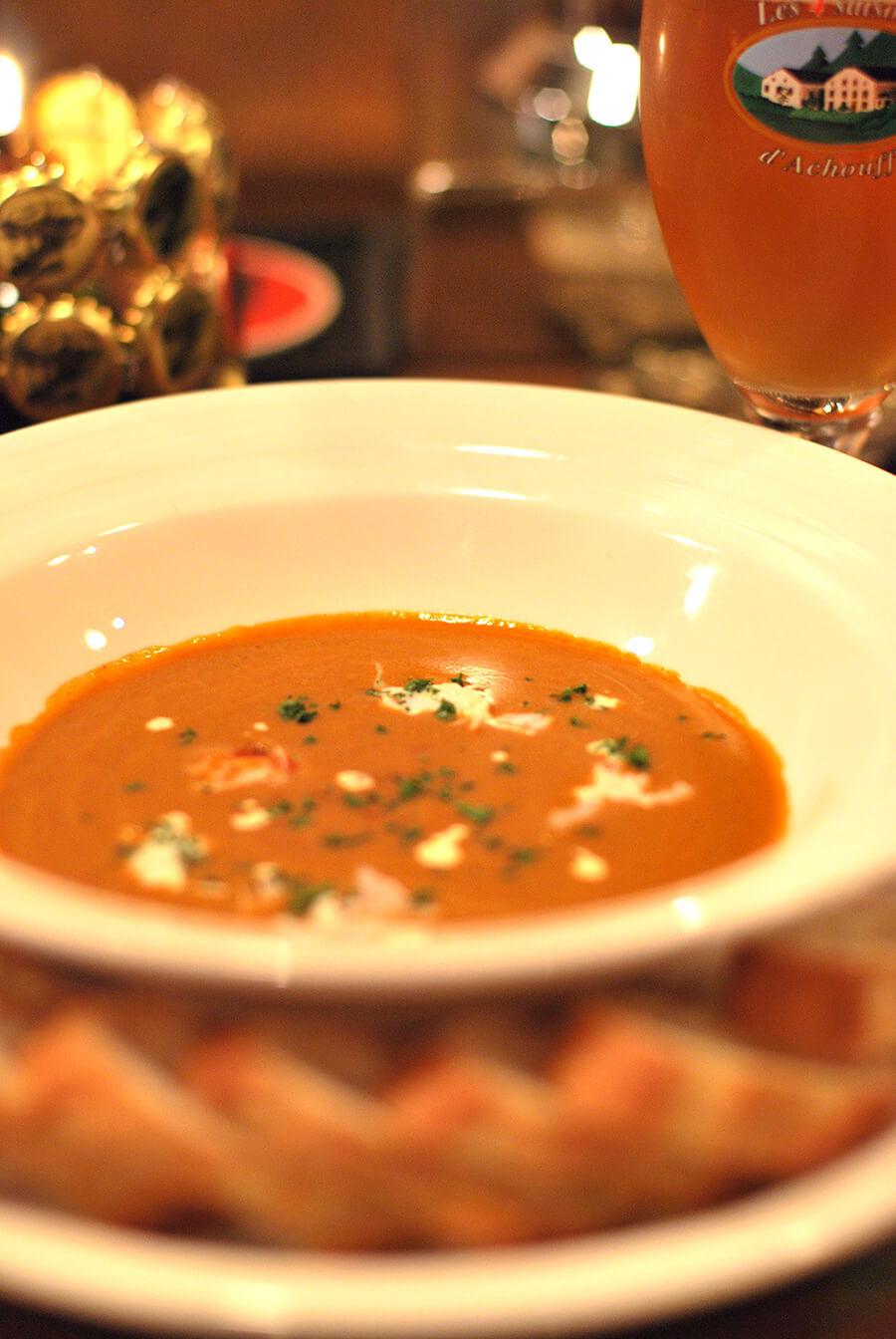 伊勢海老のスープ