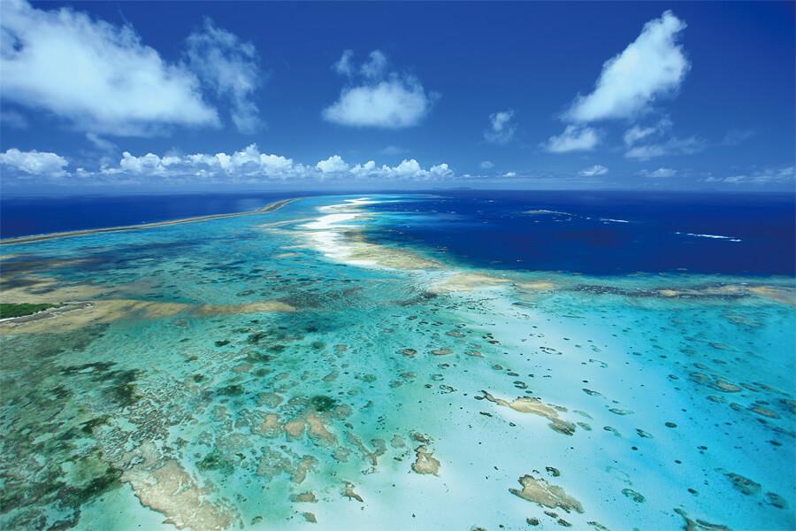 空から見たハテの浜2