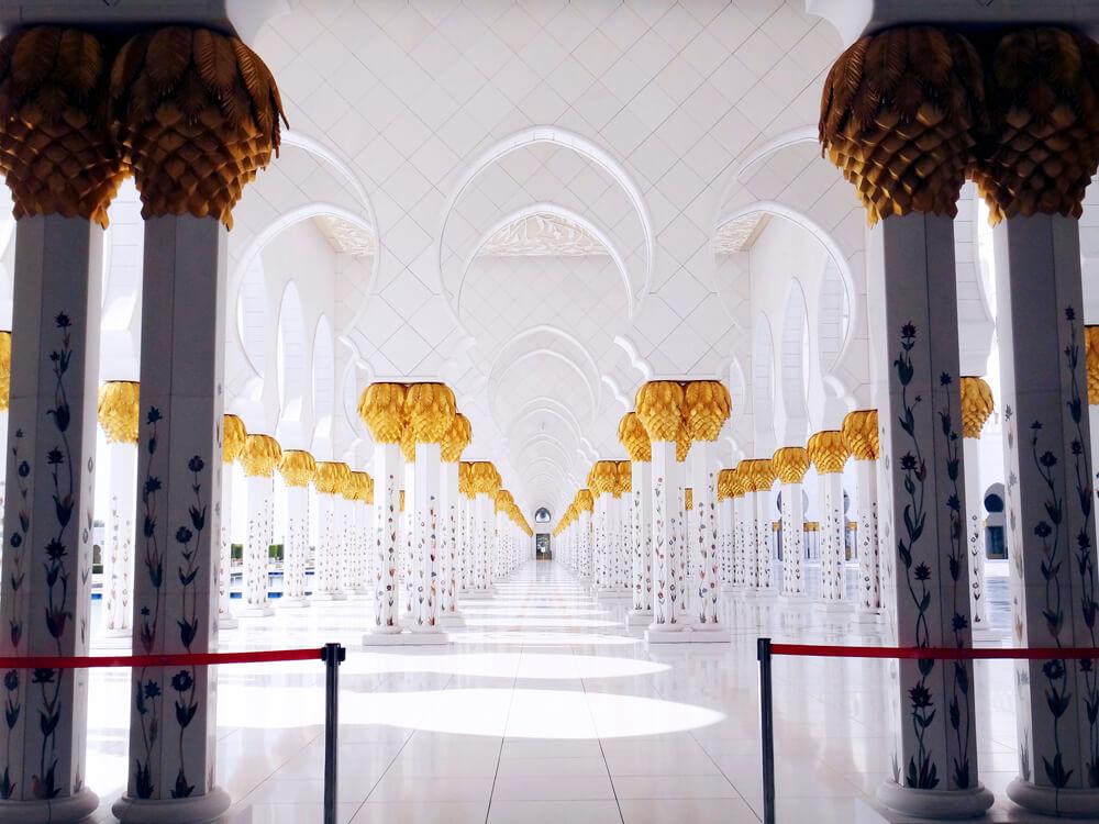 シェイク・ザイード・グランド・モスク 柱