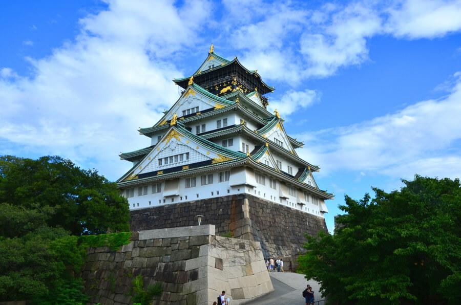 大阪城ヒキ画