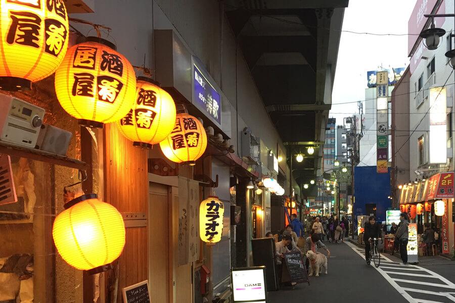 高円寺ガード下2