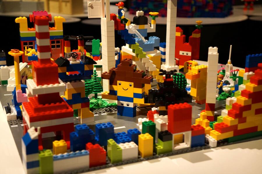 レゴブロックで作った作品
