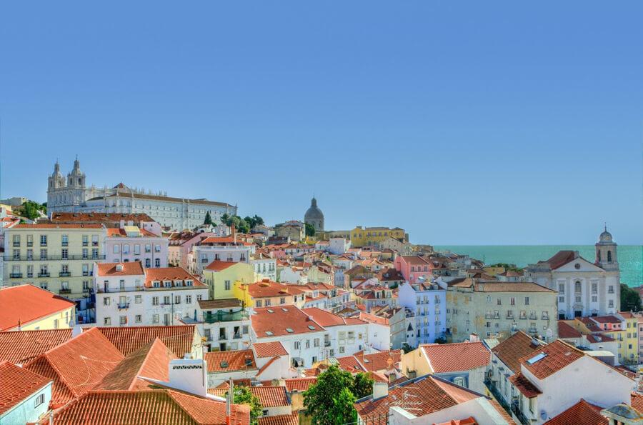 ポルトガルの街なみ