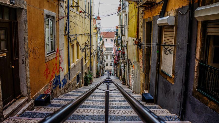 坂の街ポルトガル