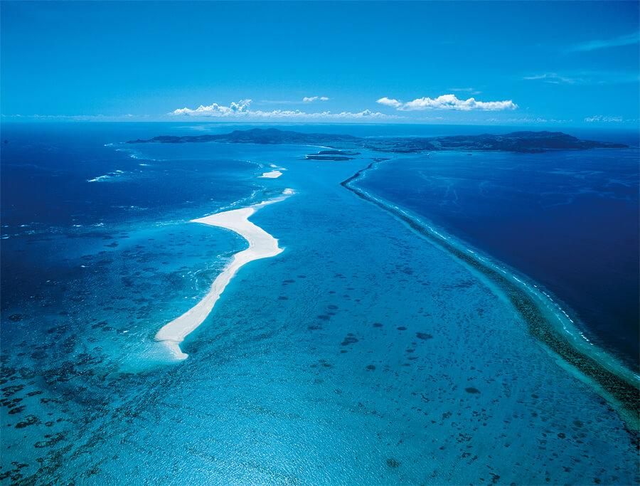 空から見たハテの浜1