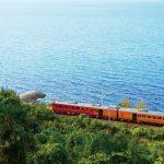 リゾート感いっぱいの 観光列車「伊予灘ものがたり」に乗って、四国の海沿いの旅を体験しよう!