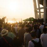【イベント】湘南の夕陽と共に、音楽を愛する老若男女が集う「SunsetLounge・FreedomSunset」