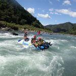 日本最後の清流!高知県 四万十川でラフティング体験&松葉川温泉でくつろぎの旅