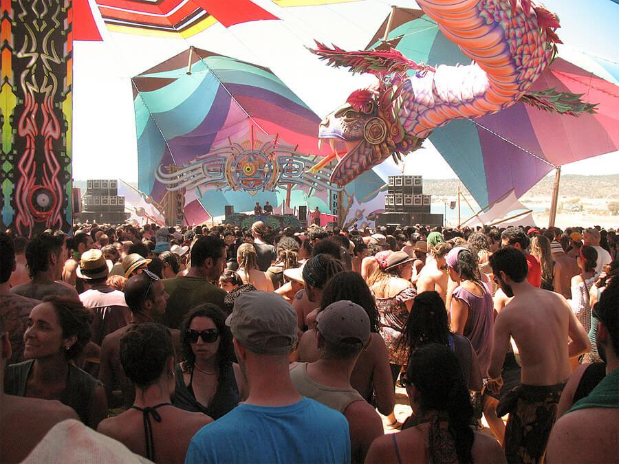Boom Festivalの様子