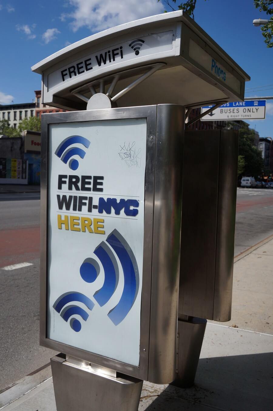 free wifi here