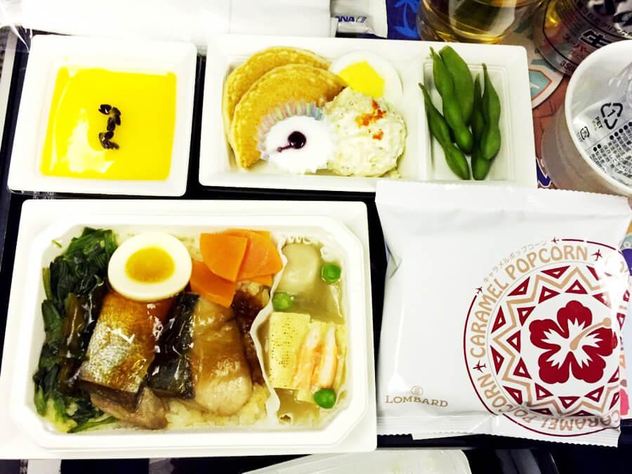 ANA機内食『ぶりの煮つけ丼』