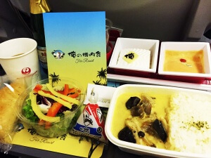 JAL機内食『俺の機内食』