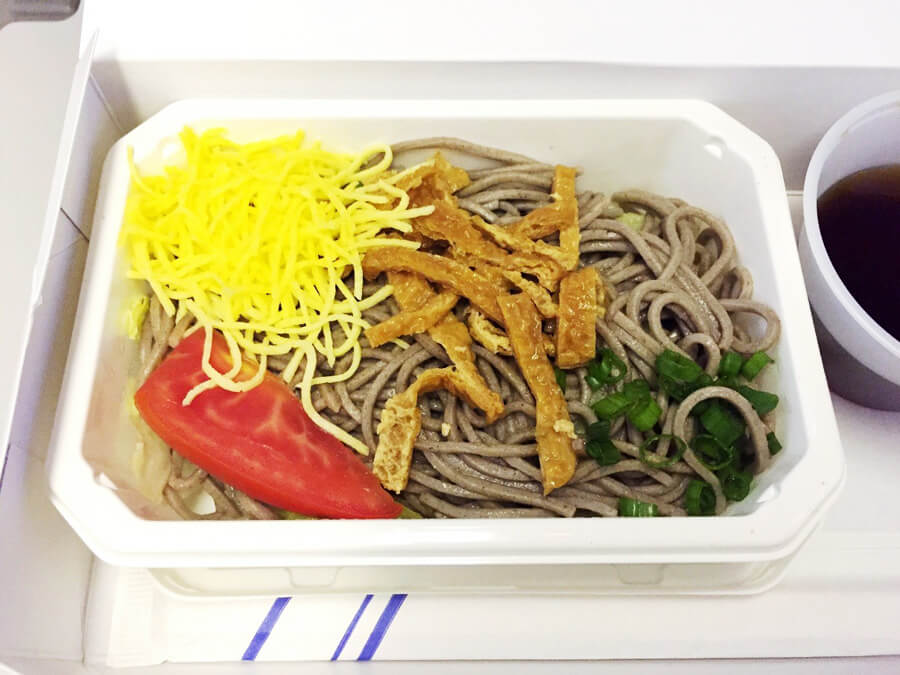 ANA機内食『お蕎麦』