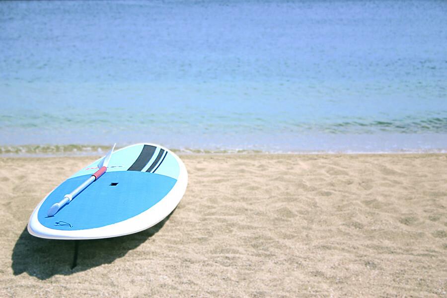 海とサーフボード