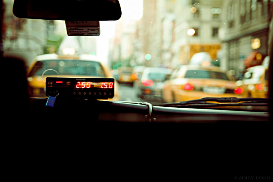 海外のタクシー
