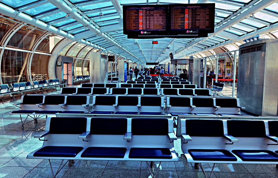 空港の待合
