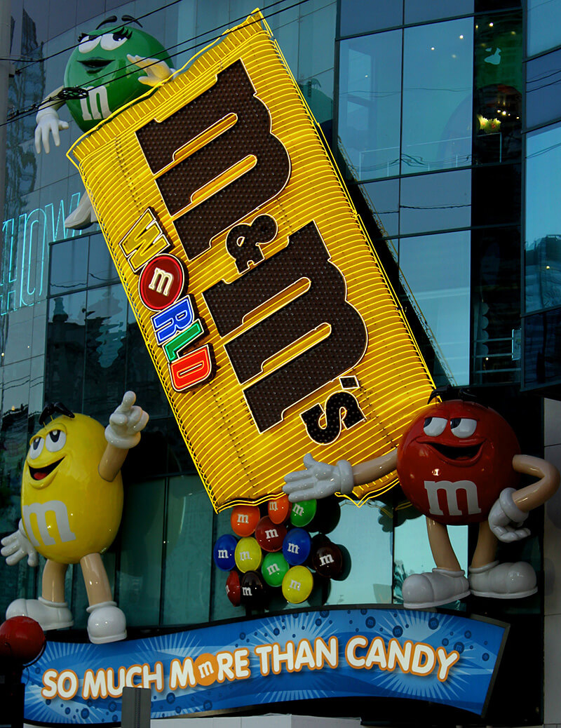 M&M Chocolate World