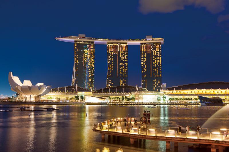 もうマリーナベイサンズだけでよくない?シンガポールのシンボルが楽しすぎてヤバい!