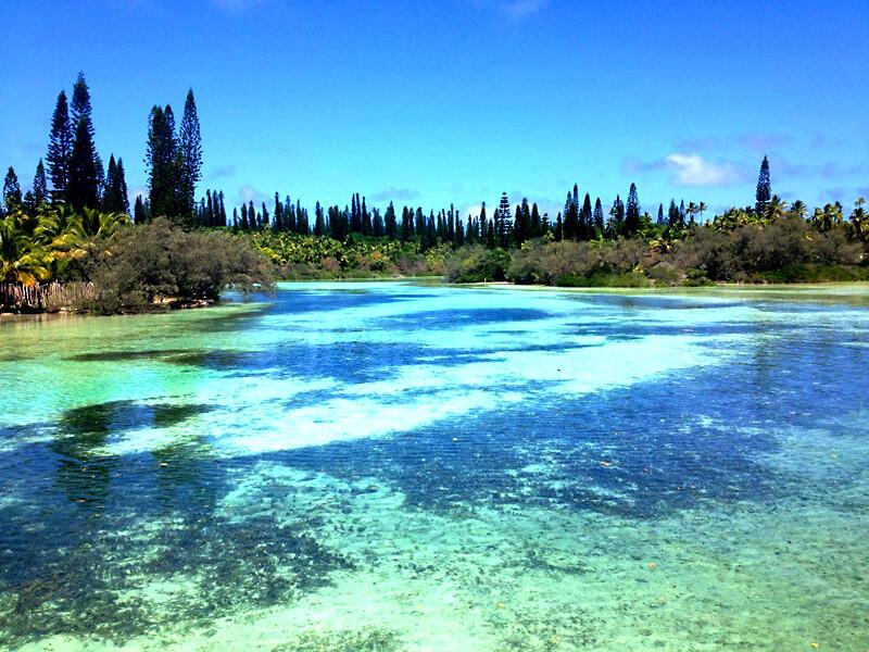 ニューカレドニア、イルデパン島