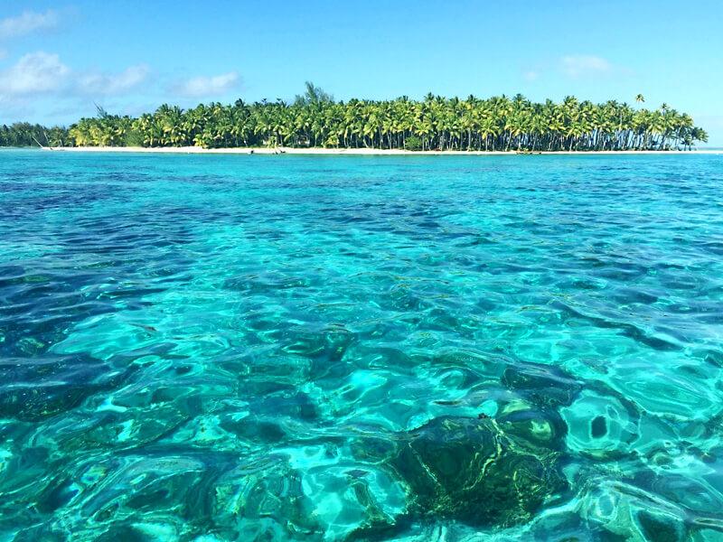 タヒチ、ボラボラ島