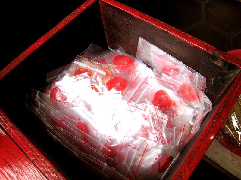 月下老人の赤い糸