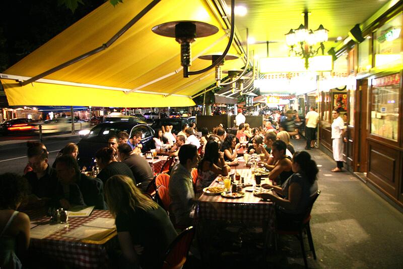 メルボルンのレストラン