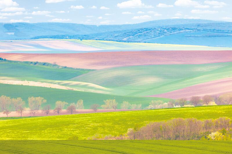 眼前に広がるカラフルな草原に大感動♪チェコの秘境モラヴィア大草原に出かけよう☆