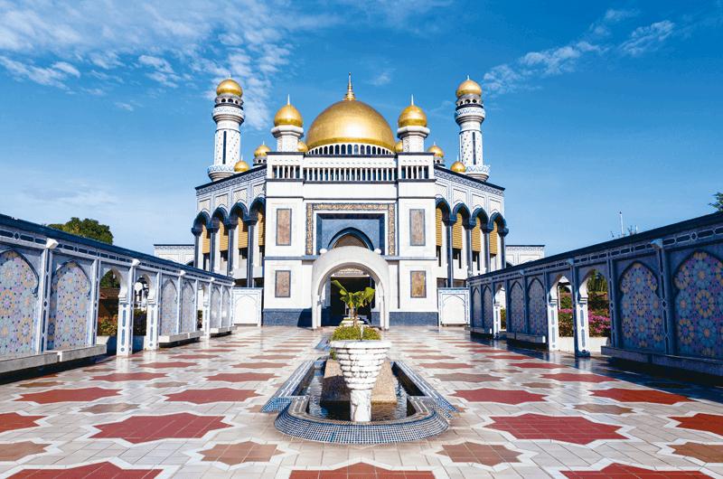 ジャミ・アサール・ハサナル・ボルキア・モスク ブルネイ モスク