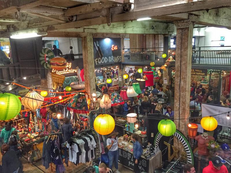 ポートランドのマーケット