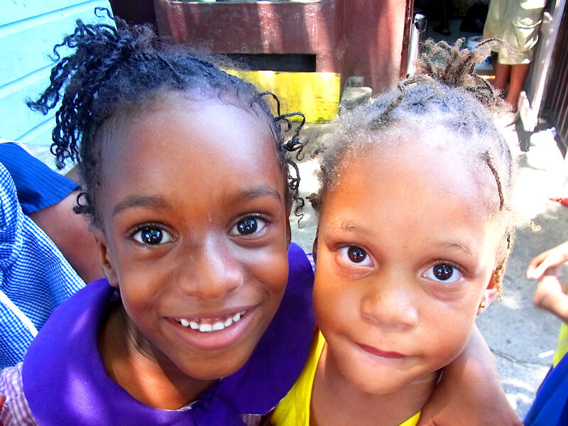 ジャマイカの子供