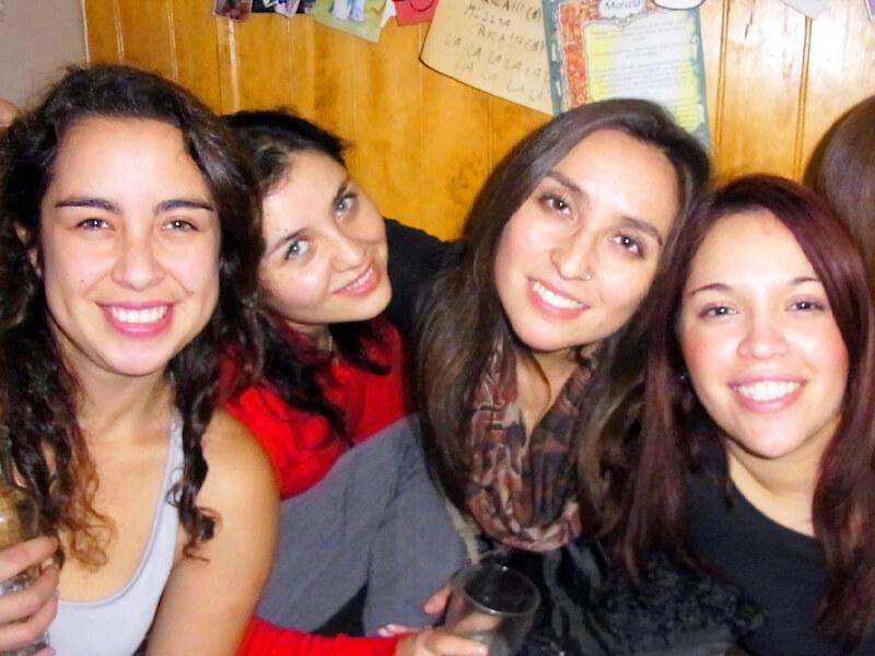 チリ人の女性