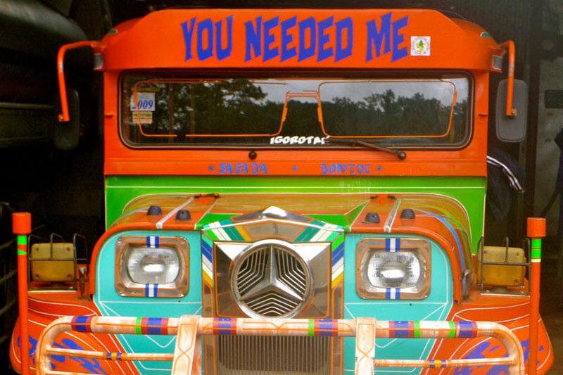 フィリピン・セブ島に行ったら超ローカルな乗り物「ジプニー」に乗ってみよう!!