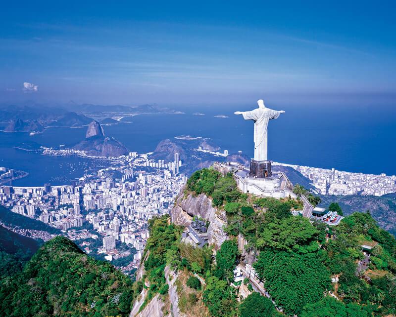 ブラジル・コルコバードの丘