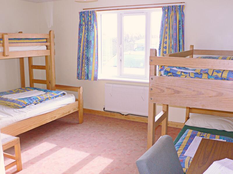ユースホステルのベッド