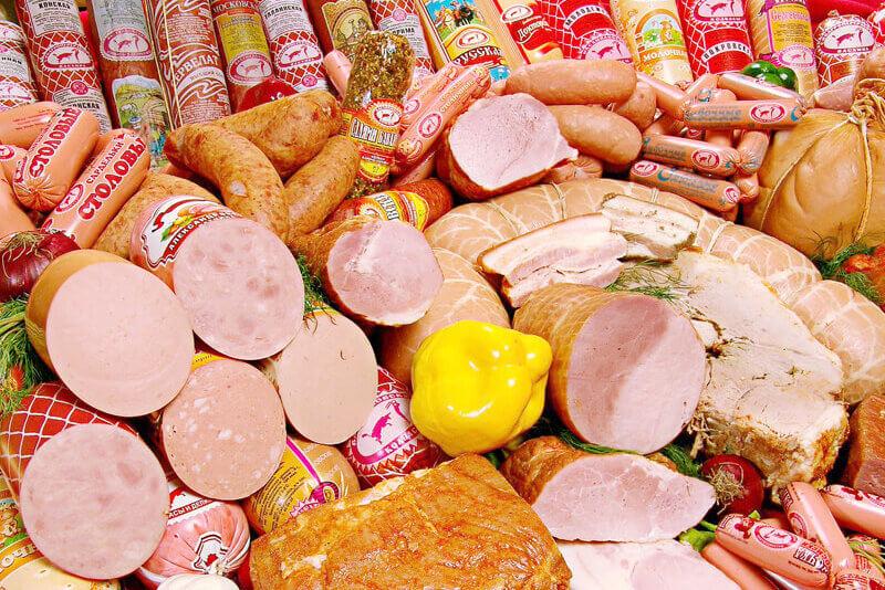 海外の肉製品
