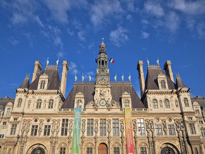 オテル・ド・ヴィル パリ市庁舎