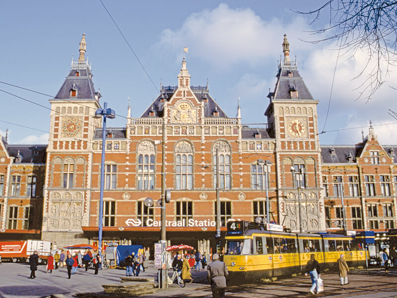 アムステルダム中央駅