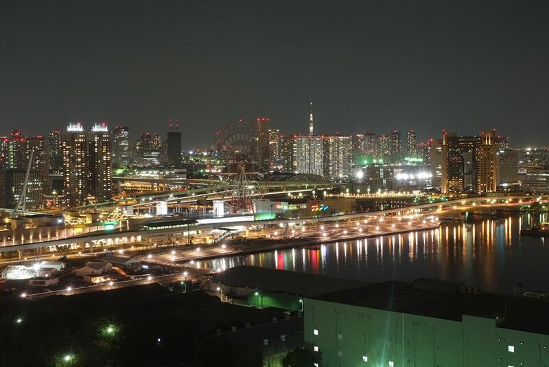 テレコムセンター 夜景