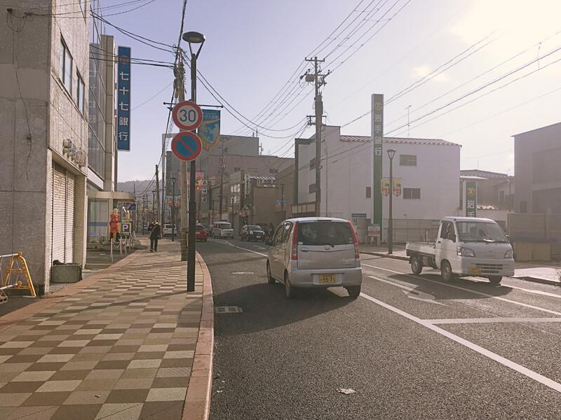 かつての石巻商店街
