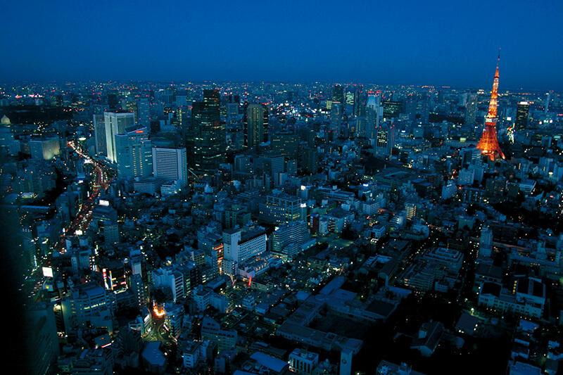 六本木ヒルズ 東京シティビューからの眺め