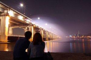 夜のお散歩デート