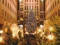 ロックフェラーセンターのクリスマスツリー