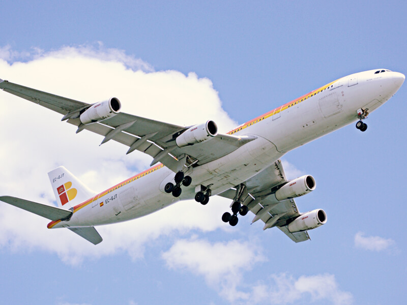 イベリア航空機