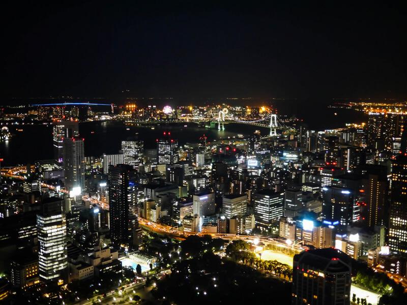 東京ベイエリアの夜景
