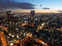 新宿エリアの夜景