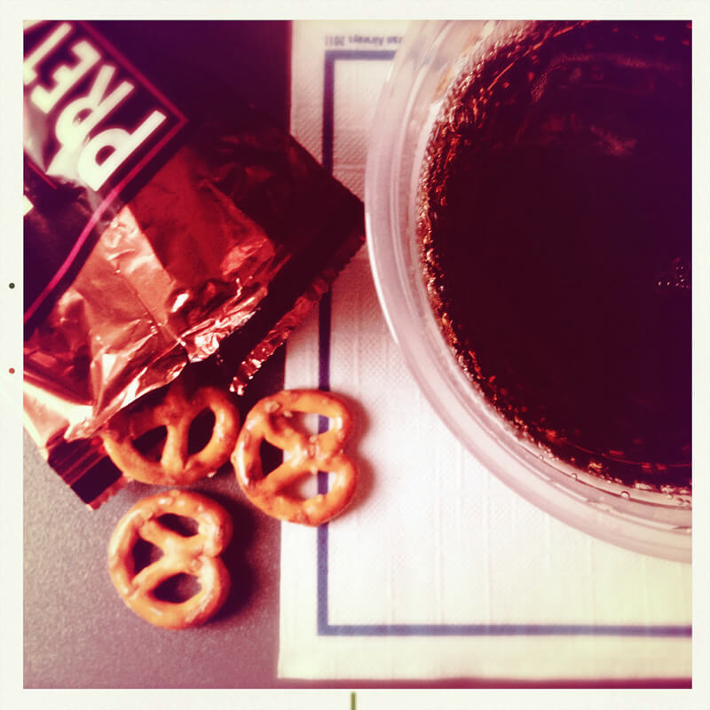ドリンクやお菓子