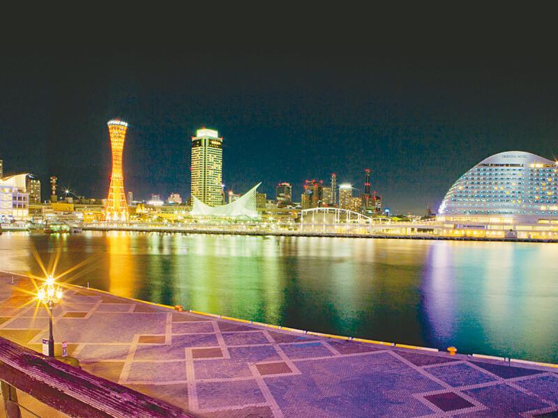 神戸港 夜景