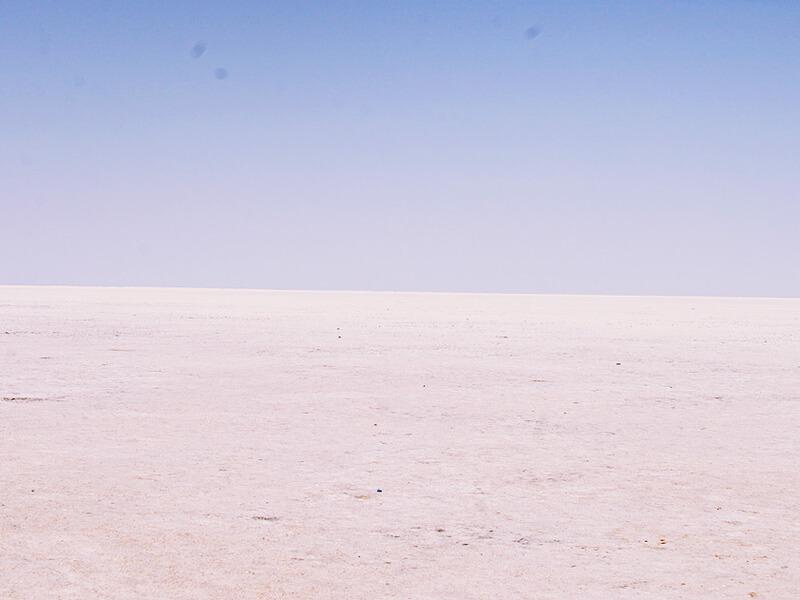 ブージの塩砂漠